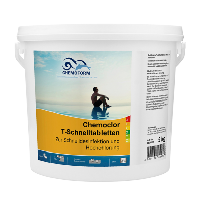 Chemoclor pastile 20g pentru piscine
