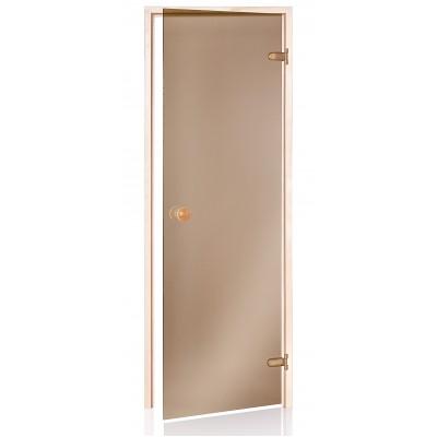 Usa pentru sauna (690 x 1890mm) Bronz