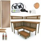 Materiale pentru constructia Saunei