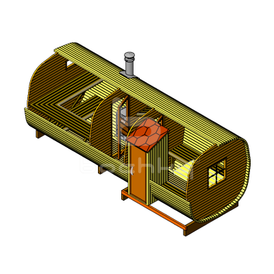 Sauna Barrel OKTA «EXCLUSIV-SV»