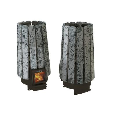 Soba pe lemne Cometa 180 Vega Short Stone