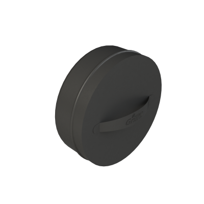 Mufă Grill'D cu mâner D250 negru (acoperire cu pulberi)